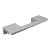 Silver anodized aluminium door handle DG02 horizontal