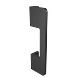 Black anodized aluminium door handle DG02 vertical