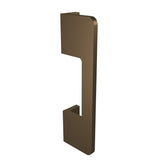 Bronze anodized aluminium door handle DG02 vertical
