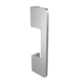Silver anodized aluminium door handle DG02 vertical