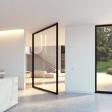 Portapivot 6530 XL glass pivot door with central axis pivoting hinge