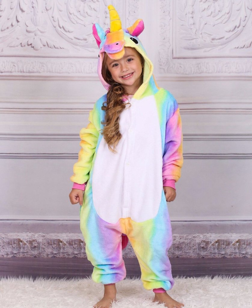 Mommy & Me Rainbow Unicorn Pajamas
