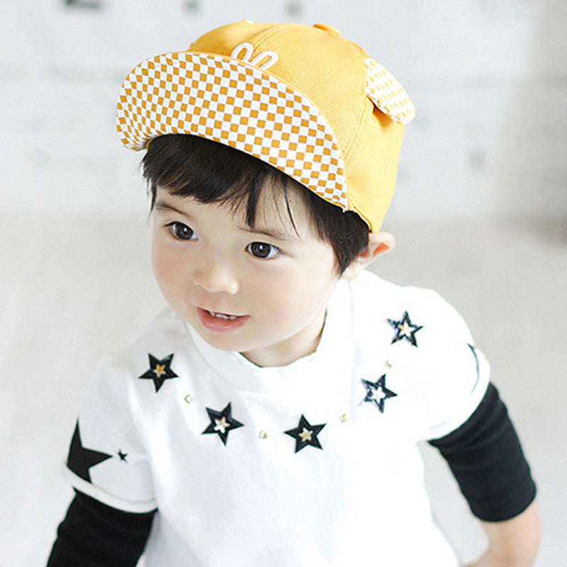 Cutie Hat With Ears For Baby & Toddler Boy