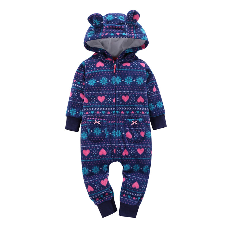 Quality Heart patterned One Piece For Baby