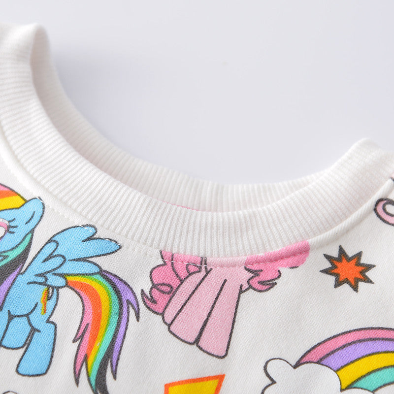 Unicorn Sweatshirts For Toddlers