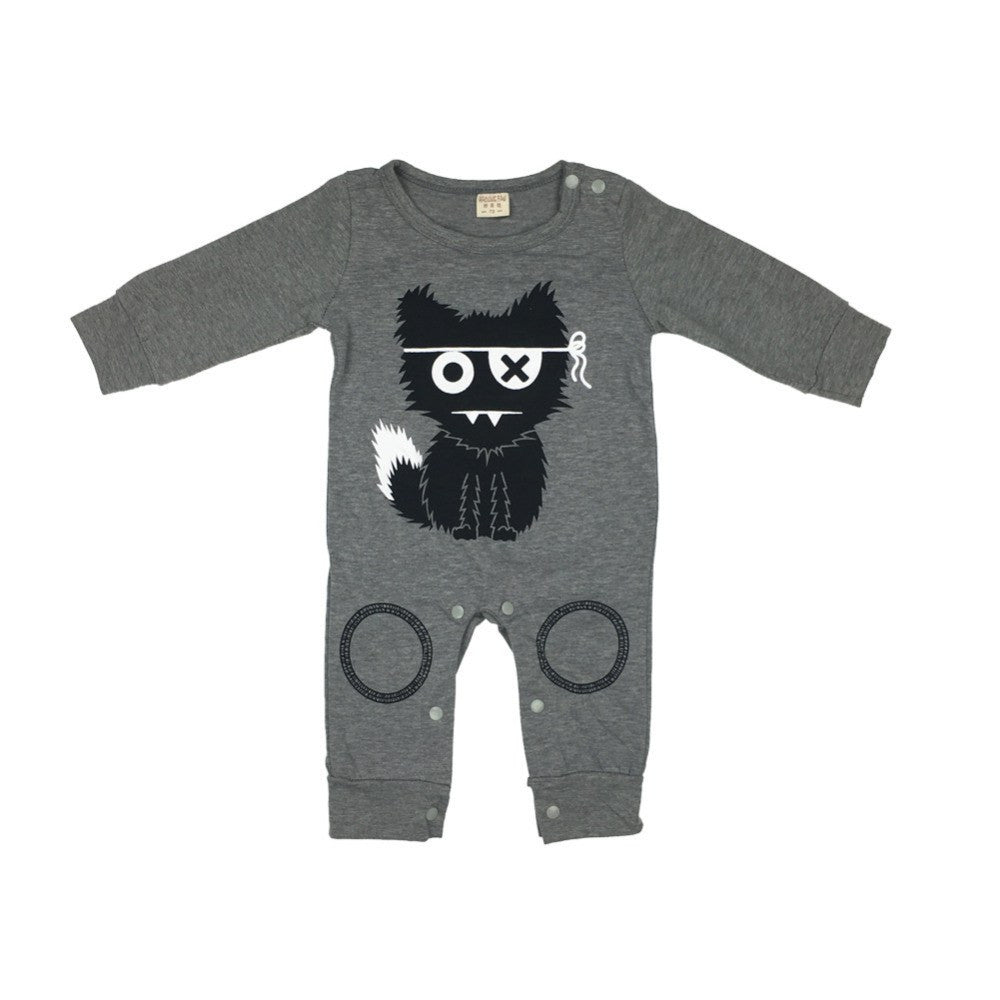 Cat Monster One Piece For Baby