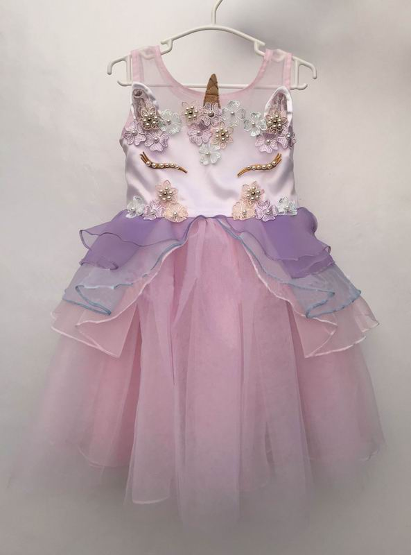Beautiful Unicorn Tutu & Flowers Dress For Baby & Toddlers