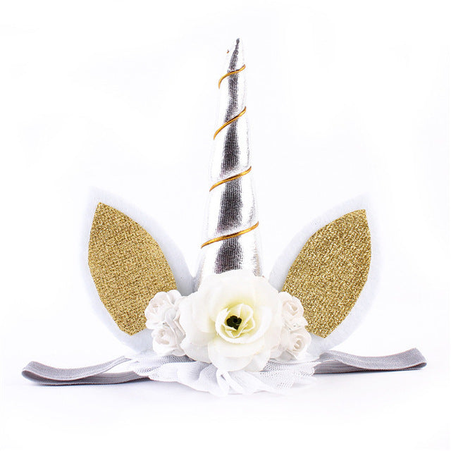 Beautiful Unicorn Horn Headband For Baby & Toddler