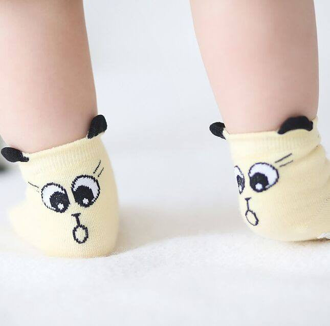 Comfy Cat Socks For Baby
