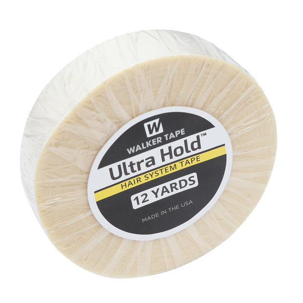 GEX Ultra White Double Side Hold 12Yards x 1'' Tape Roll - GexWorldwide