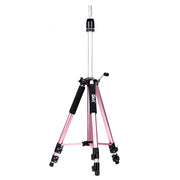 GEX Heavy Duty Canvas Block Head Tripod Mannequin Stand Rose Color mannequin tripod- GexWorldwide