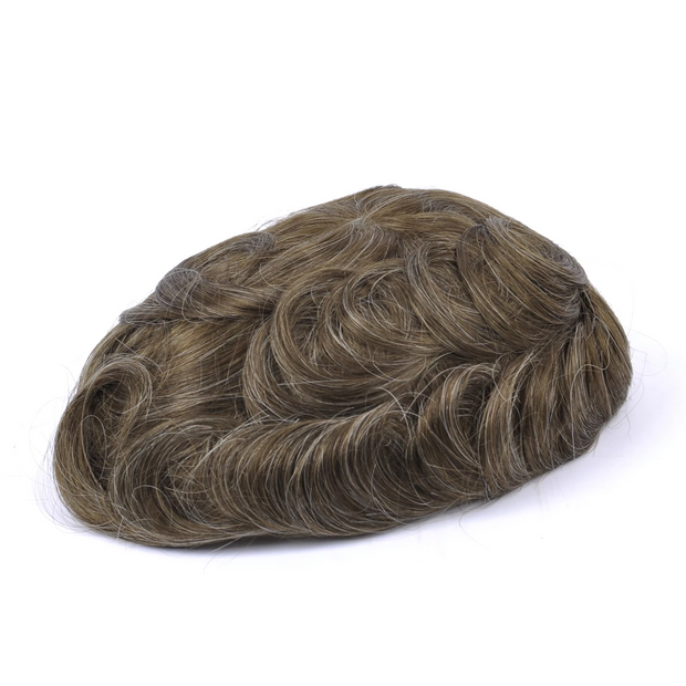GEX Mens Toupee Hairpiece Versatile Human Hair Systems 33 colors - GexWorldwide