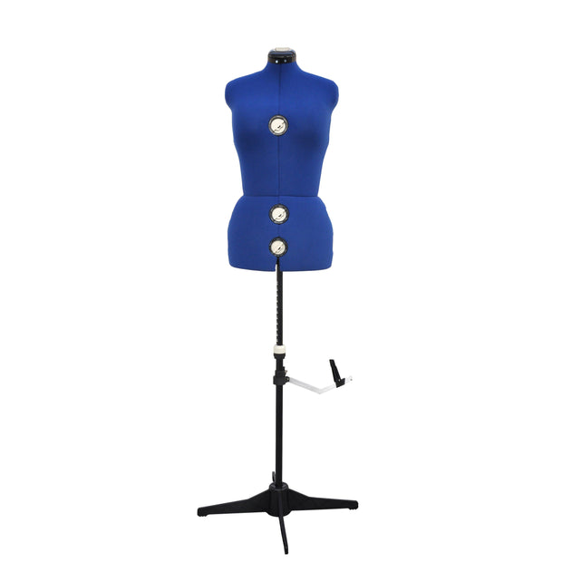 GEX 13 Dials Adjustable Dress Form Fabric-Backed Large Size - GexWorldwide