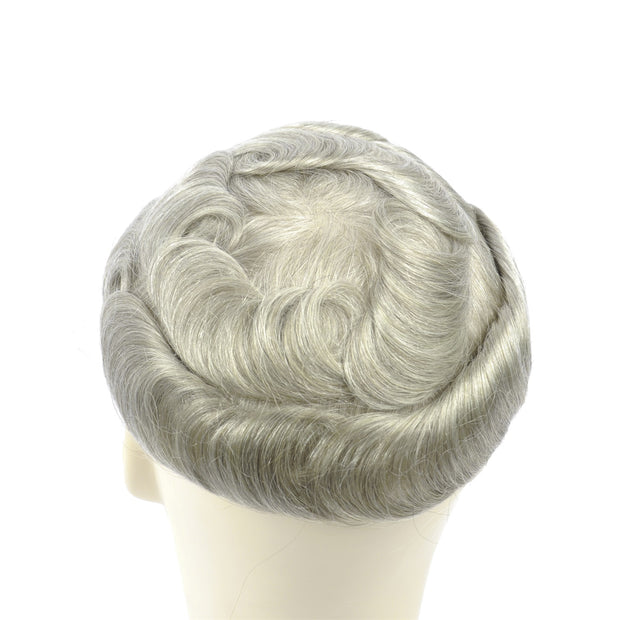 GEX Mens Toupee Hairpiece Swiss Lace Hair Systems 1780# - GexWorldwide