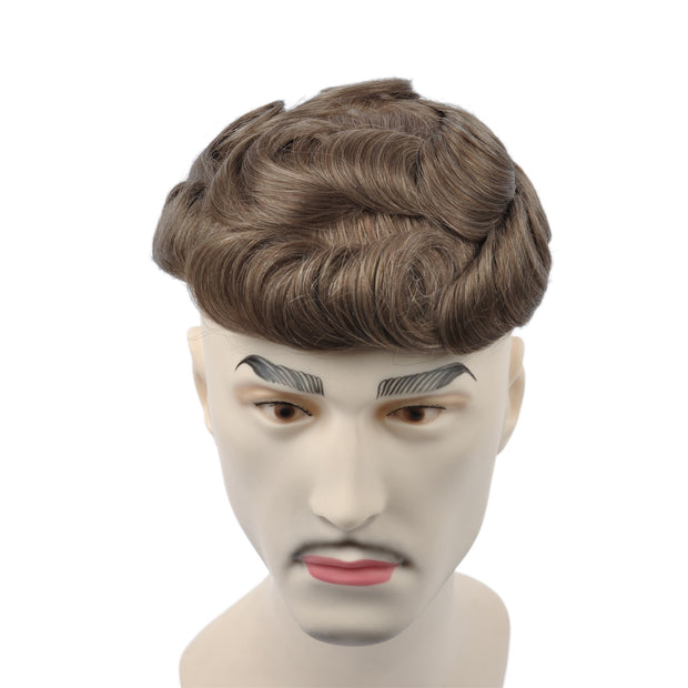 GEX Mens Toupee Hairpiece Swiss Lace Hair Systems 17R# - GexWorldwide