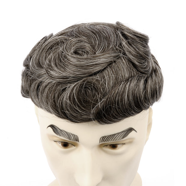 GEX Mens Toupee Hairpiece Bond Human Hair Systems 340# - GexWorldwide