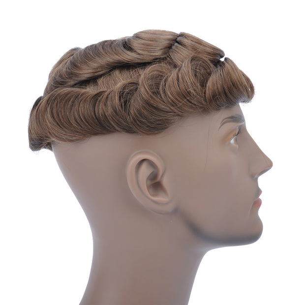 GEX Mens Toupee Hairpiece Swiss Lace Hair Systems 4# - GexWorldwide