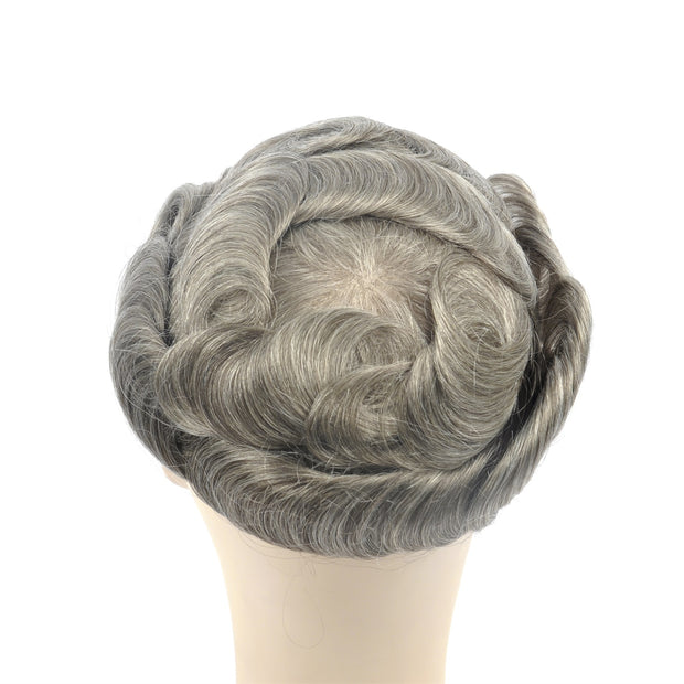 GEX Mens Toupee Hairpiece Swiss Lace Hair Systems 565# - GexWorldwide