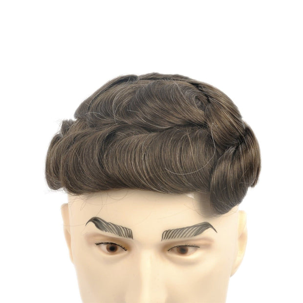GEX Mens Toupee Hairpiece NG Human Hair Systems 610# - GexWorldwide