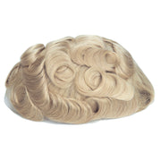 GEX Mens Toupee Hairpiece Swiss Lace Hair Systems 613# - GexWorldwide
