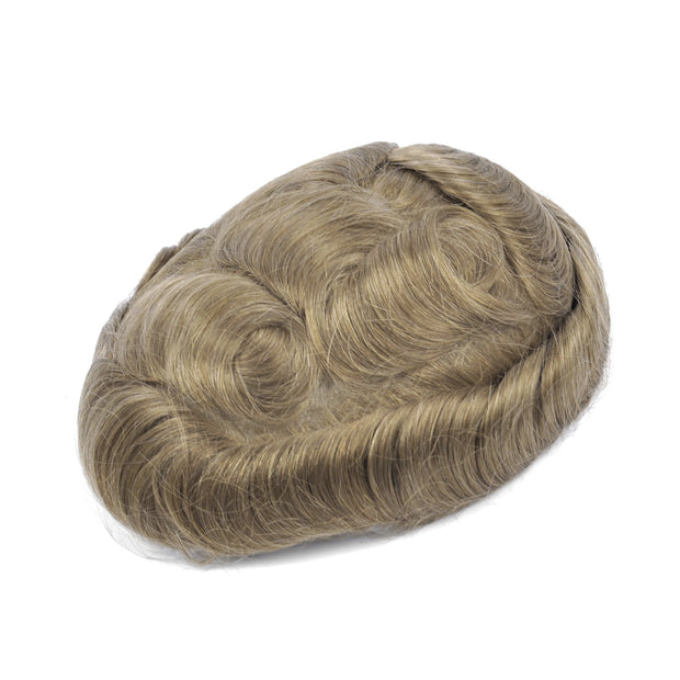 GEX Mens Toupee Hairpiece Swiss Lace Hair Systems 10R# - GexWorldwide