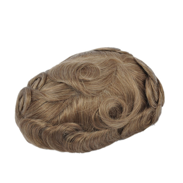 GEX Mens Toupee Hairpiece Mirage Human Hair Systems 12R# - GexWorldwide