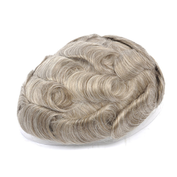 GEX Mens Toupee Hairpiece Swiss Lace Hair Systems 1765# - GexWorldwide