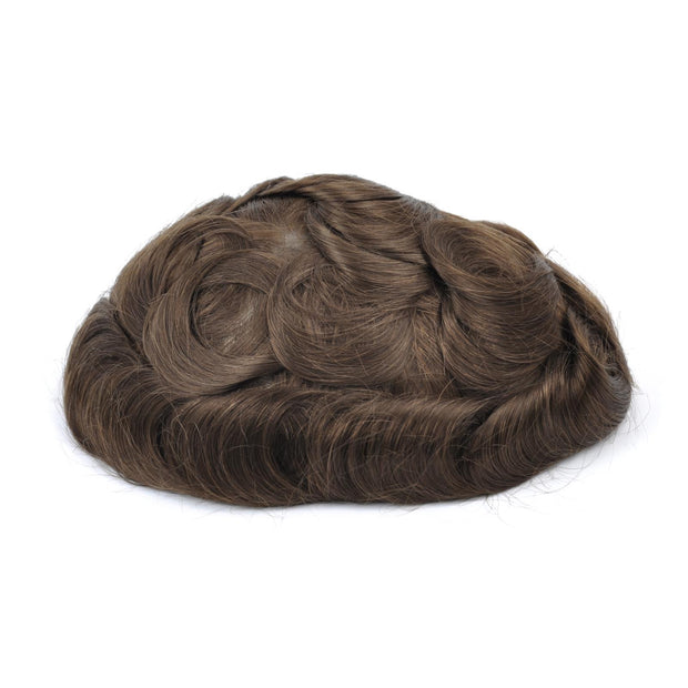 GEX Mens Toupee Hairpiece Mirage Human Hair Systems 5R# - GexWorldwide