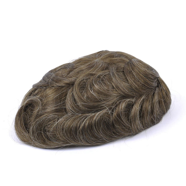 GEX Mens Toupee Hairpiece NG Human Hair Systems 620# - GexWorldwide
