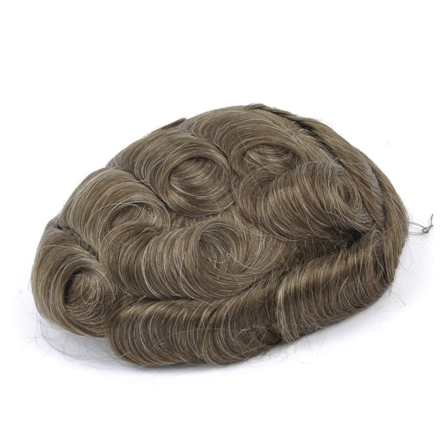 GEX Mens Toupee Hairpiece NG Human Hair Systems 720# - GexWorldwide