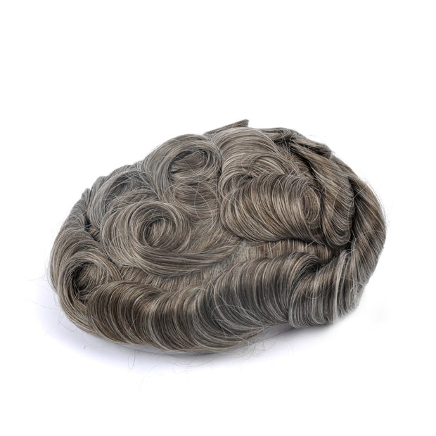 GEX Mens Toupee Hairpiece NG Human Hair Systems 740# - GexWorldwide