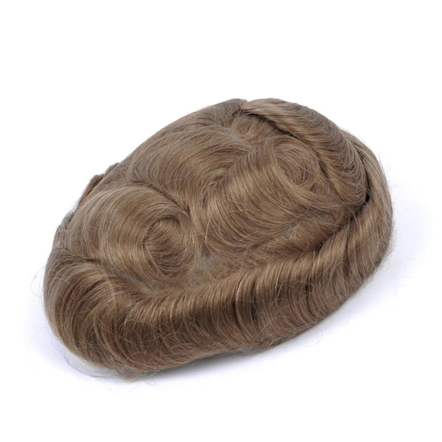 GEX Mens Toupee Hairpiece NG Human Hair Systems 8R# - GexWorldwide