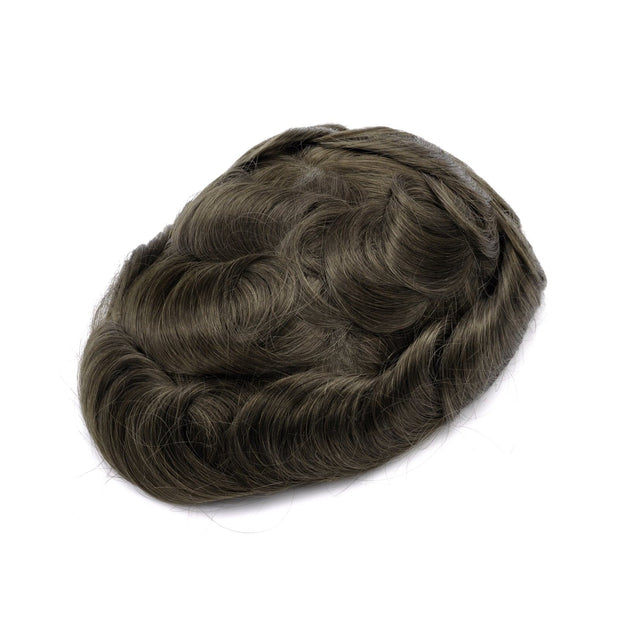 GEX Mens Toupee Hairpiece NG Human Hair Systems ASH4# - GexWorldwide