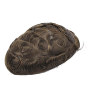 GEX Mens Toupee Hairpiece NG Human Hair Systems ASH5# - GexWorldwide