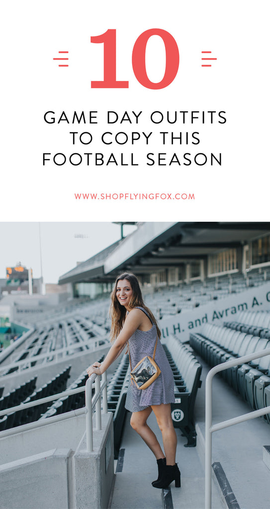 10 Game Day Outfits to Copy This Football Season