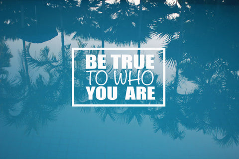 Be True To Who You Are - Flying Fox