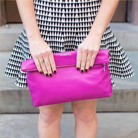 Fuchsia Adele Crossbody by Flying Fox