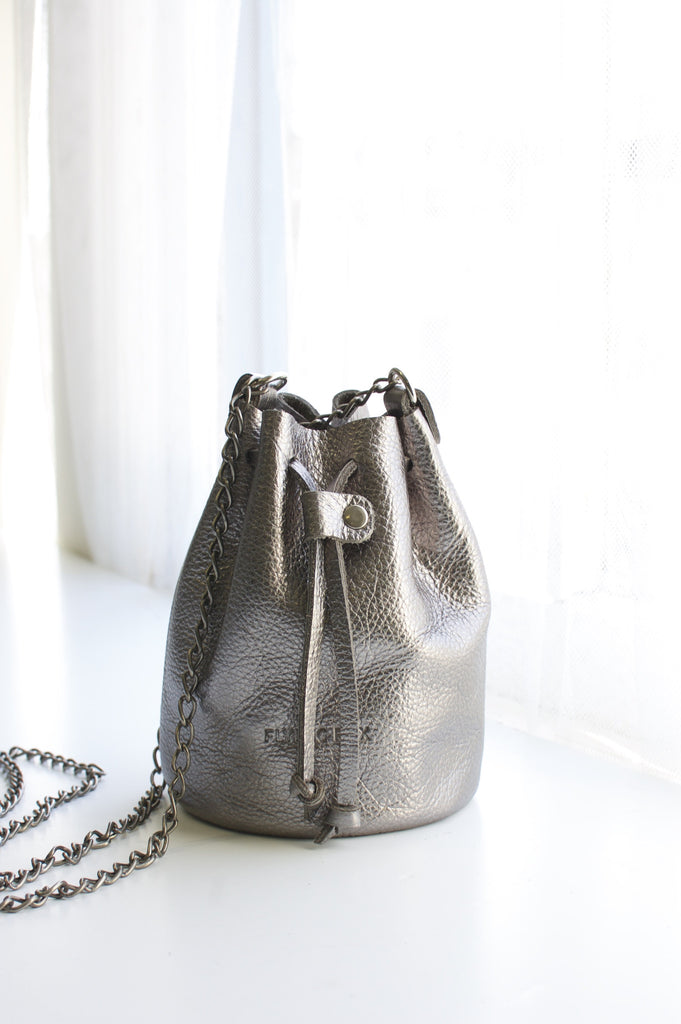 Marty Mini Bucket Bag (without fringe)