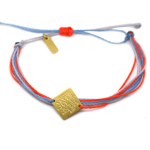 Blue Orange bracelete