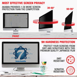34.0 Inch (Diagonally Measured) 21:9 ASPECT RATIO Privacy Screen Filter for Widescreen Computer Monitors