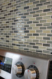 Beach Break Hand Painted Glass Mosaic Subway Tiles - rockypointtile-ca