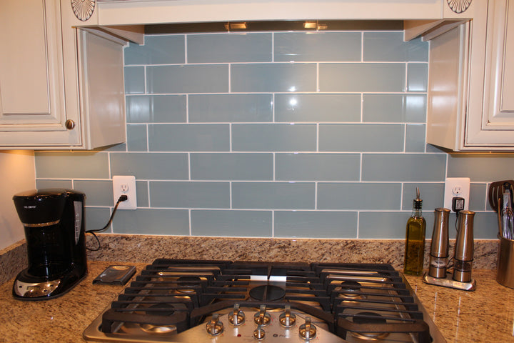 Jasper Blue Grey 4x12 Glass Subway Tiles Rockypointtile Ca