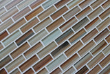 Sunset Beach Hand Painted Glass Subway Mosaic Tiles - rockypointtile-ca