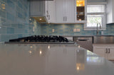 Seaside Blue 3x6 Glass Subway Tiles - rockypointtile-ca