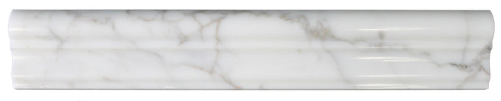 Calacatta Gold Polished Marble Chair Rail - rockypointtile-ca