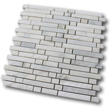Chicago Marble Mosaic Tile - White - rockypointtile-ca