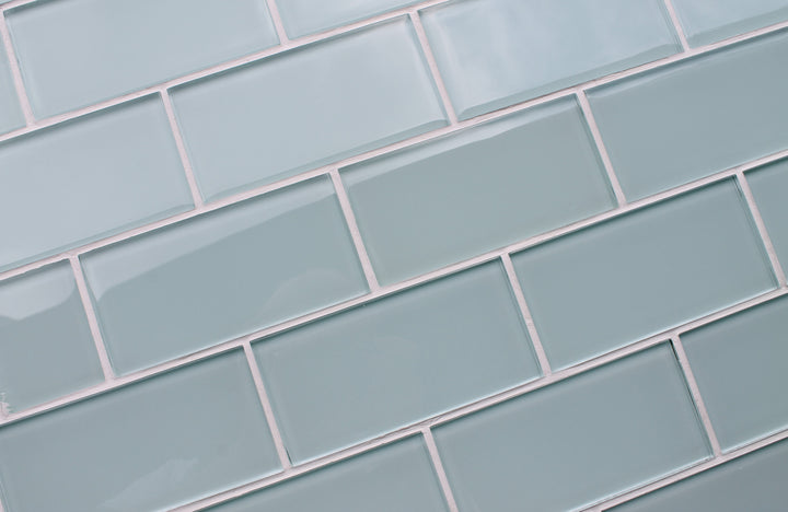 Ice Age 3x6 Glass Subway Tiles - rockypointtile-ca