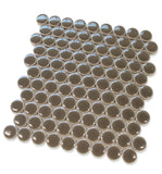 "Queens 1"" Penny Round Mosaic Tiles - Geckos - rockypointtile-ca"
