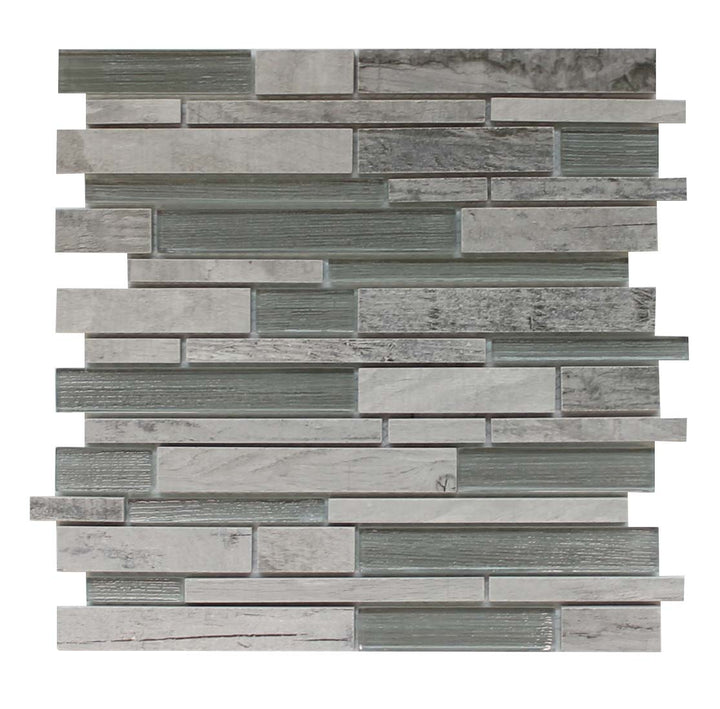 Dockside Porcelain and Glass Mosaics Strips - Rollers - rockypointtile-ca