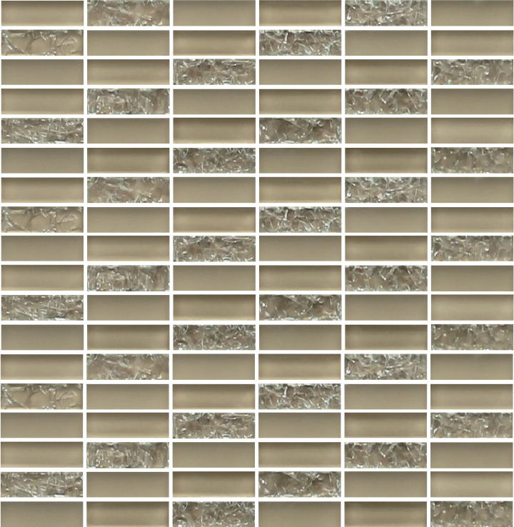 Sparkle Sand Glass Mosaic Subway Tiles - rockypointtile-ca